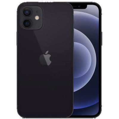 Apple iPhone 12 5G (128GB, Dual Sim, Black, Special Import)-Smartphones (New)-Connected Devices