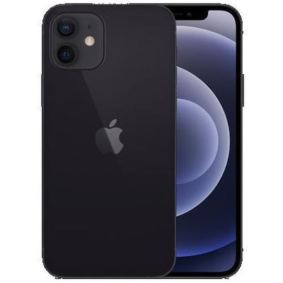 Apple iPhone 12 5G (256GB, Dual Sim, Black, Special Import)-Smartphones (New)-Connected Devices