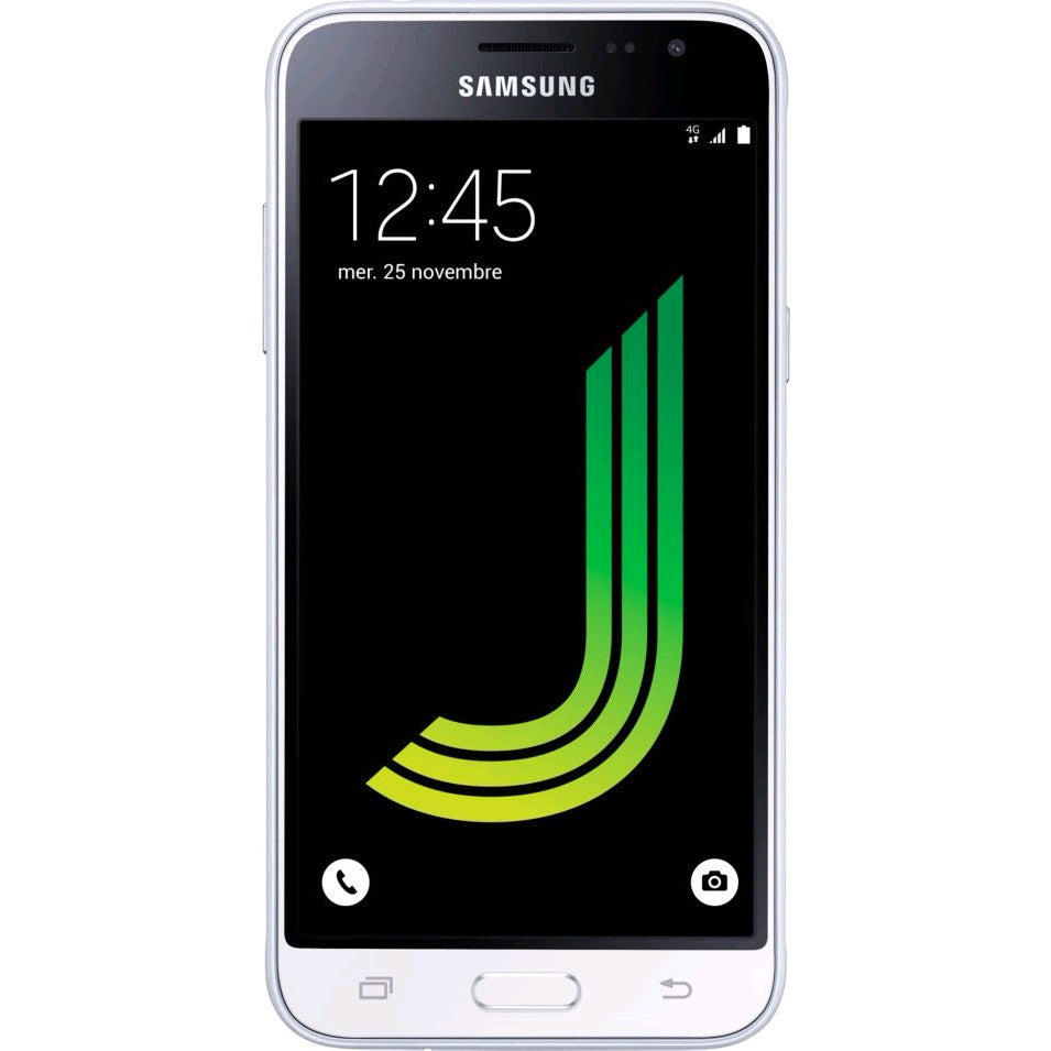 Samsung J3 (2016, White, Special Import)