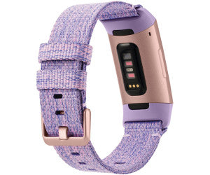 Fitbit Charge 3 (38mm, Lavender/Rose Gold, Special Edition, Bluetooth, Special Import)-Wearables (New)-Connected Devices