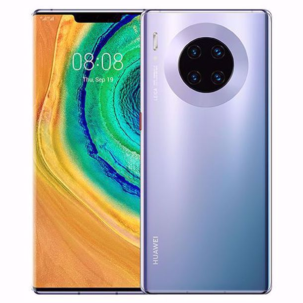 Huawei Mate 30 Pro (256GB, 8GB RAM, Dual Sim, Silver, Special Import)-Smartphones (New)-Connected Devices