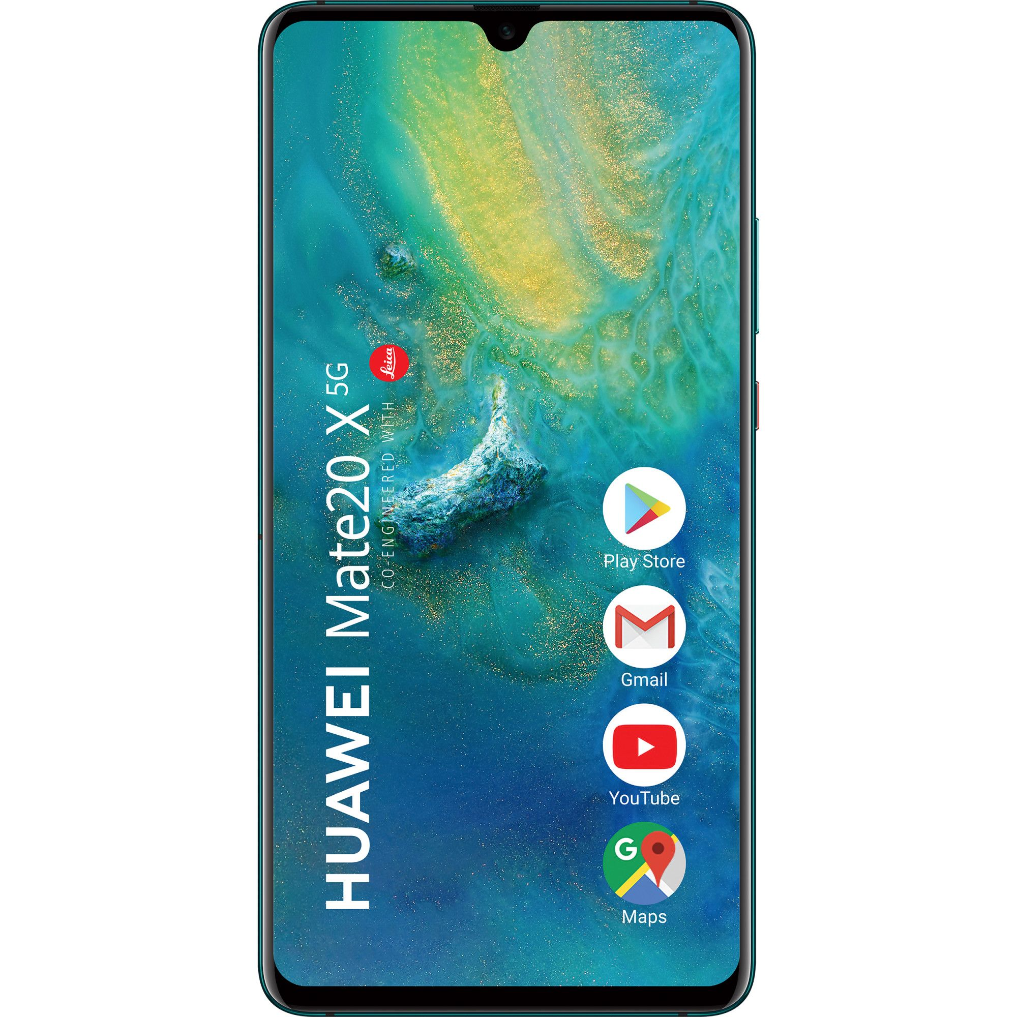 Huawei Mate 20X 5G (256GB, Dual Sim, Emerald Green, Special Import)-Smartphones (New)-Connected Devices
