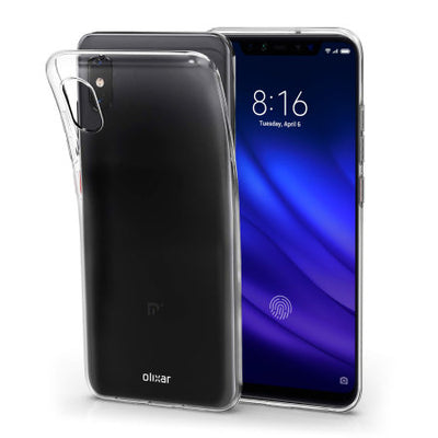 Olixar Ultra-Thin Xiaomi Mi 8 Pro Gel Case (Clear, Special Import)-Accessories - Smartphones - Cases-Connected Devices