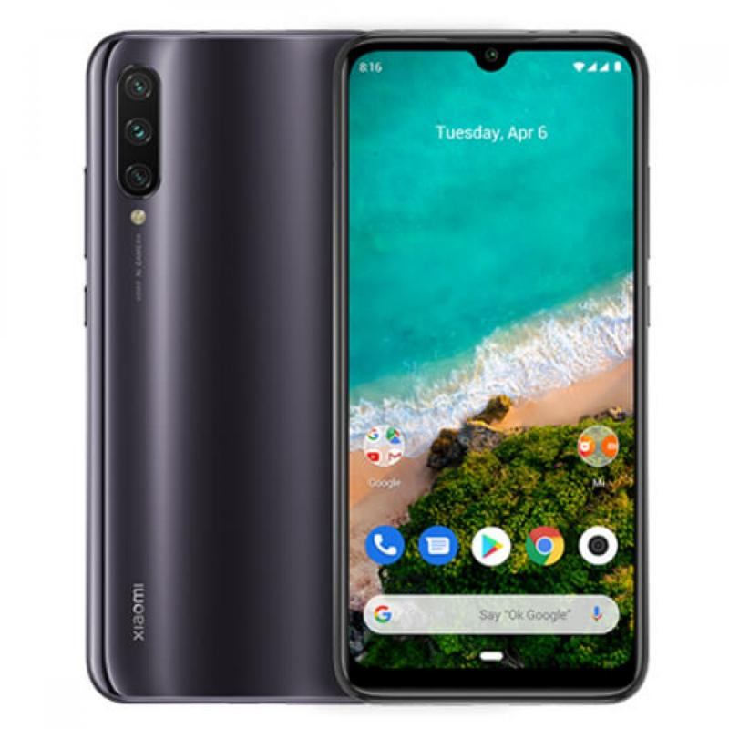 Xiaomi Mi A3 (64GB, Dual Sim, Grey, Special Import)-Smartphones (New)-Connected Devices