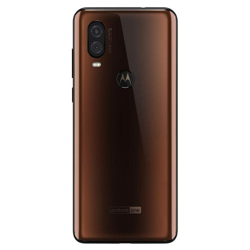 Motorola One Vision (128GB, Dual Sim, Bronze, Special Import)-Smartphones (New)-Connected Devices