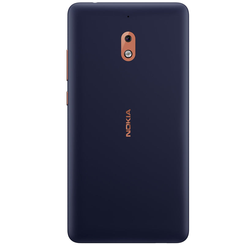 Nokia 2.1 (2018, 8GB, Blue Copper, Single Sim, Local)-Smartphones (New)-Connected Devices