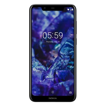 Nokia 5.1 (16GB, Single Sim, Black, Local Stock)