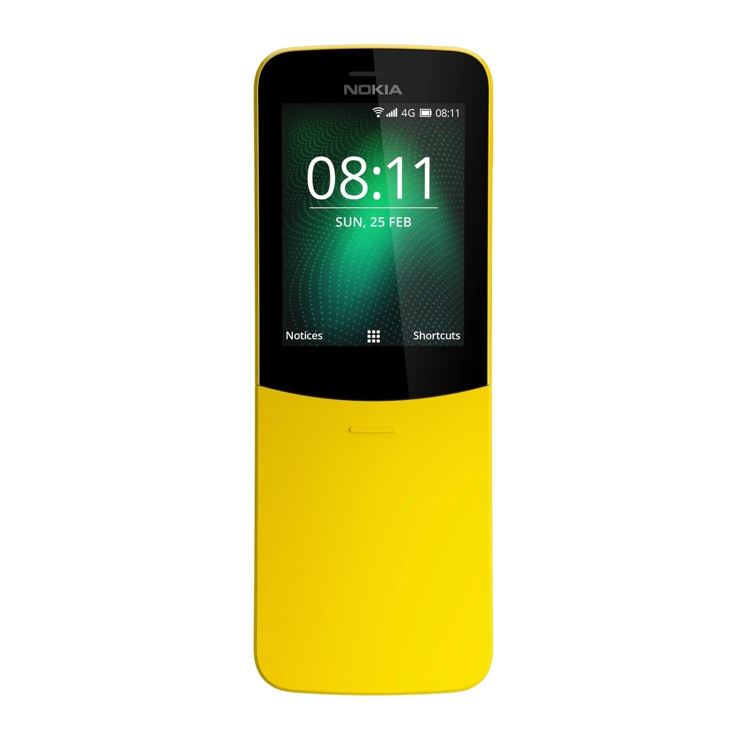 Nokia 8110 (Single Sim, Yellow, 4G, Special Import)