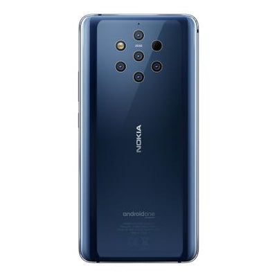 Nokia 9 Pureview (128GB, Dual sim, Midnight Blue, Special Import)-Smartphones (New)-Connected Devices