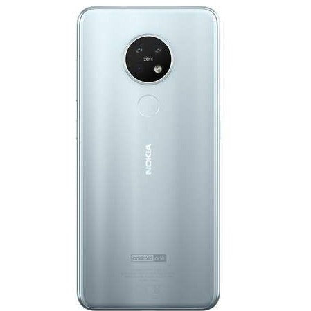 Nokia 7.2 (2019, 128GB, Dual Sim, Ice, Special Import)-Smartphones (New)-Connected Devices