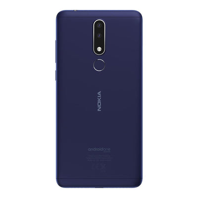 Nokia 3.1 Plus (32GB, Dual Sim, Blue, Special Import)-Smartphones (New)-Connected Devices