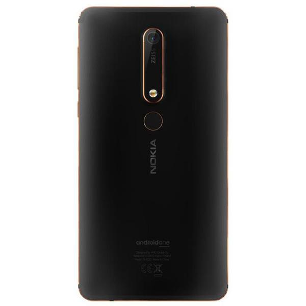 Nokia 6.1 (2018, 32GB, Single Sim, Black Copper, Local Stock)-Smartphones (New)-Connected Devices