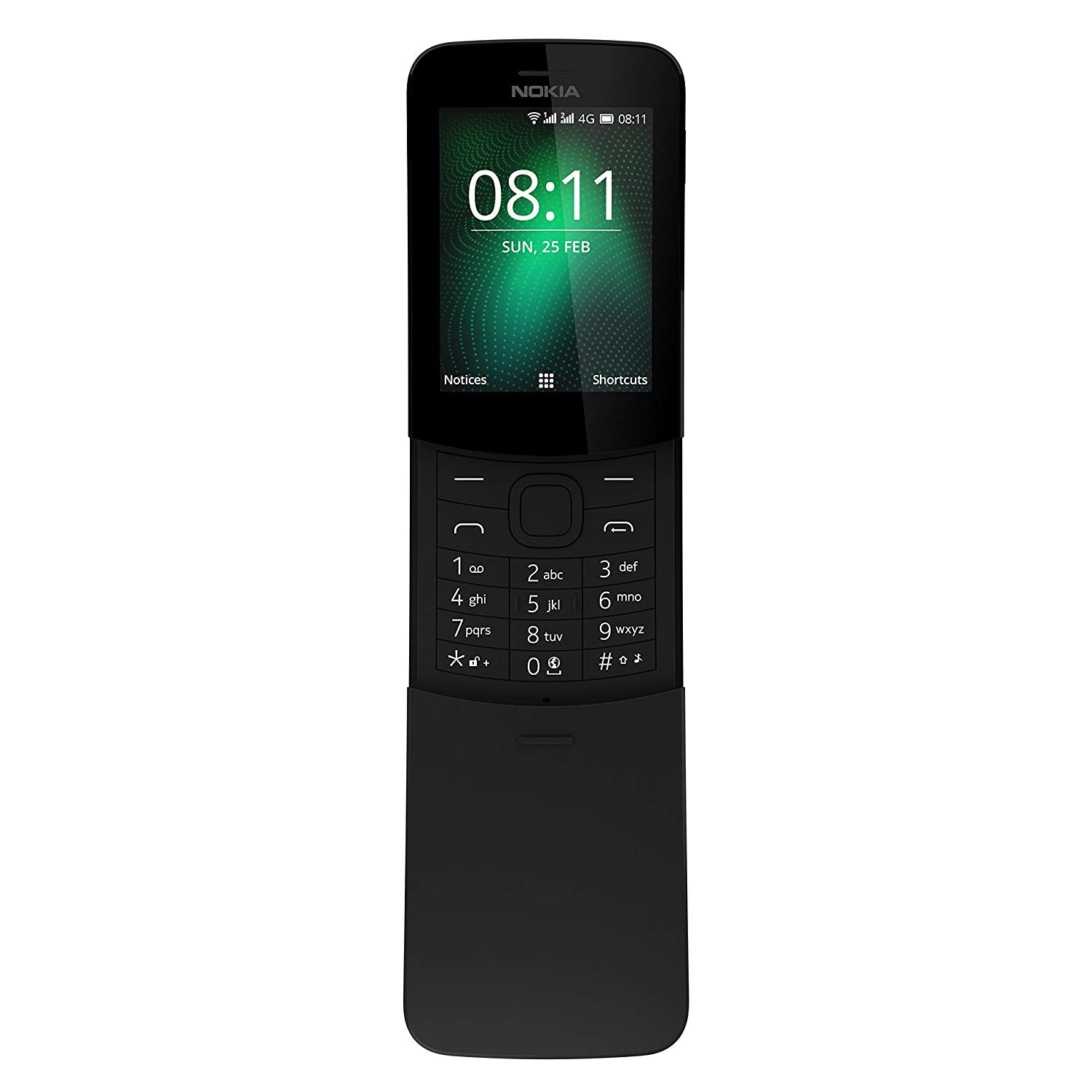Nokia 8110 (Single Sim, Black, 4G, Local Stock)