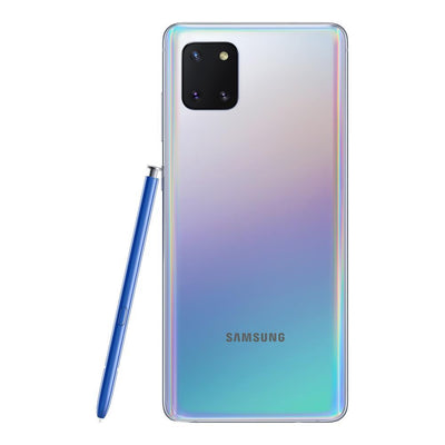Samsung Galaxy Note 10 Lite (128GB, Single Sim, Aura Glow, Local Stock)-Smartphones (New)-Connected Devices