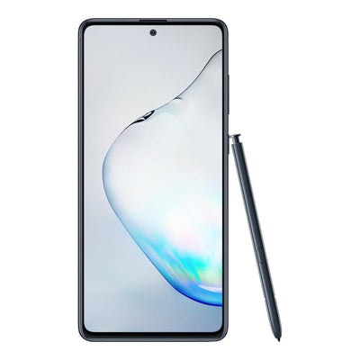 Samsung Galaxy Note 10 Lite (Dual Sim, 128GB, Black, Special Import)-Smartphones (New)-Connected Devices