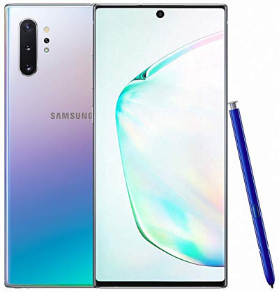 Samsung Galaxy Note 10 Plus (256GB, Dual Sim, Aura Glow, Special Import)-Smartphones (New)-Connected Devices