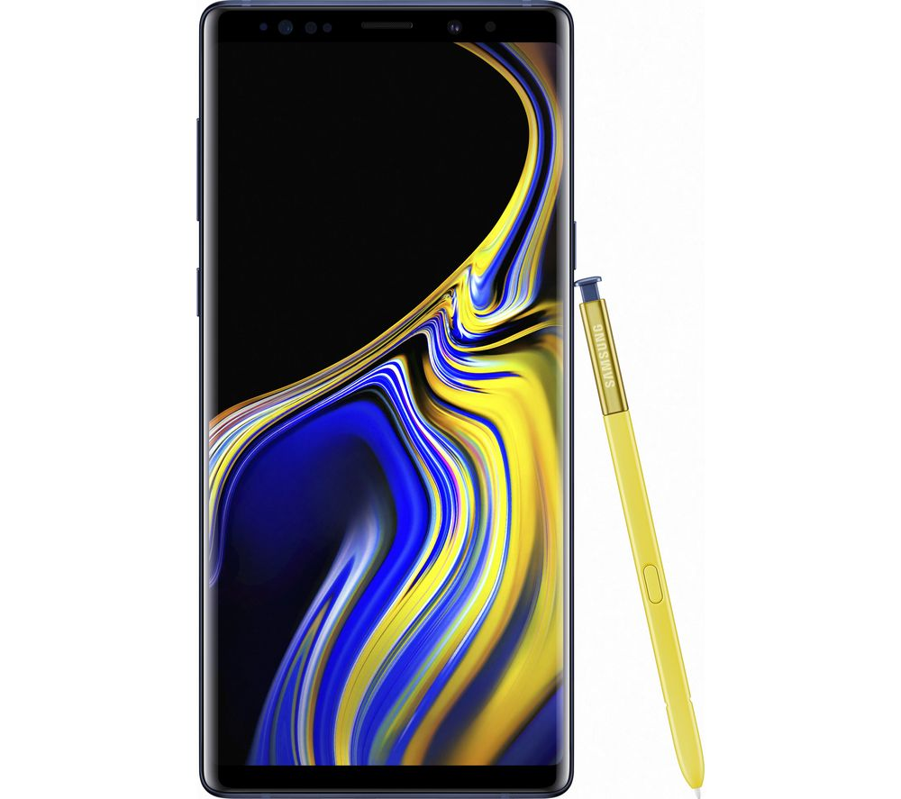 Samsung Galaxy Note 9 (512GB, Single Sim, Ocean Blue, Local Stock)