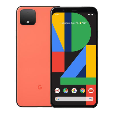 Google Pixel 4 (64GB, Oh So Orange, Special Import)-Smartphones (New)-Connected Devices