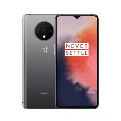 OnePlus 7T (128GB, Dual Sim, Frosted Silver, Special Import)-Smartphones (New)-Connected Devices