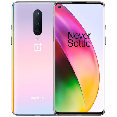 Oneplus 8 5G (256GB, 12GB Ram, Dual Sim, Glow, Special Import)-Smartphones (New)-Connected Devices