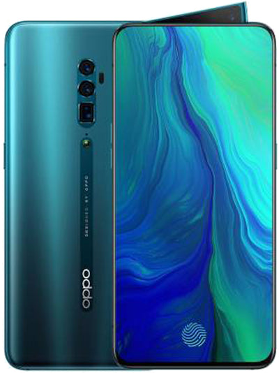 Oppo Reno (256GB, 6GB RAM, Dual Sim, Ocean Green, Special Import)-Smartphones (New)-Connected Devices