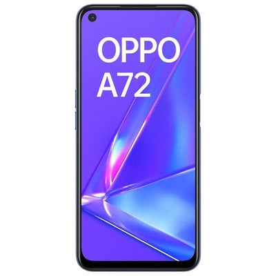 Oppo A72 (128GB, Dual Sim, Twilight Black, Special Import)-Smartphones (New)-Connected Devices