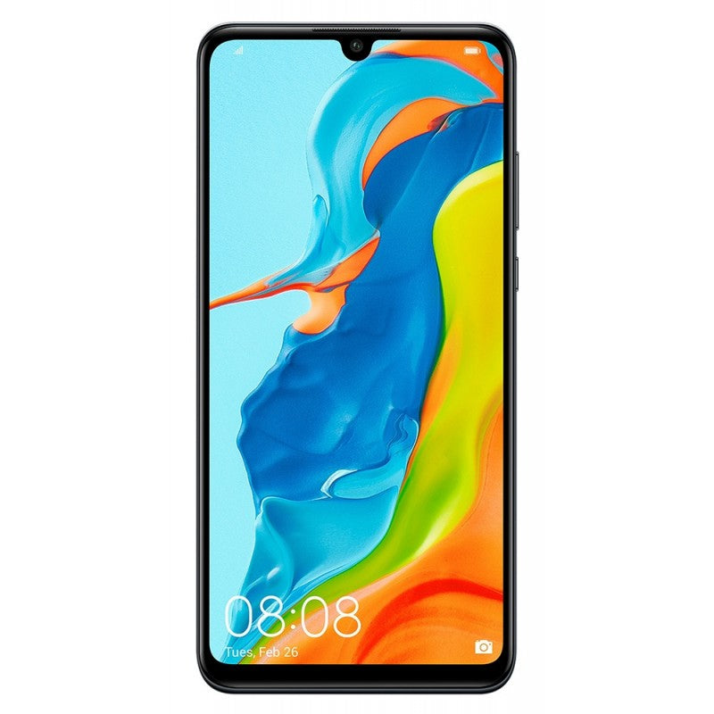 Huawei P30 Lite (128GB, Dual Sim, Black, Special Import)-Smartphones (New)-Connected Devices