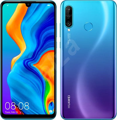 Huawei P30 Lite (128GB, Single Sim, Blue, Local Stock)-Smartphones (New)-Connected Devices