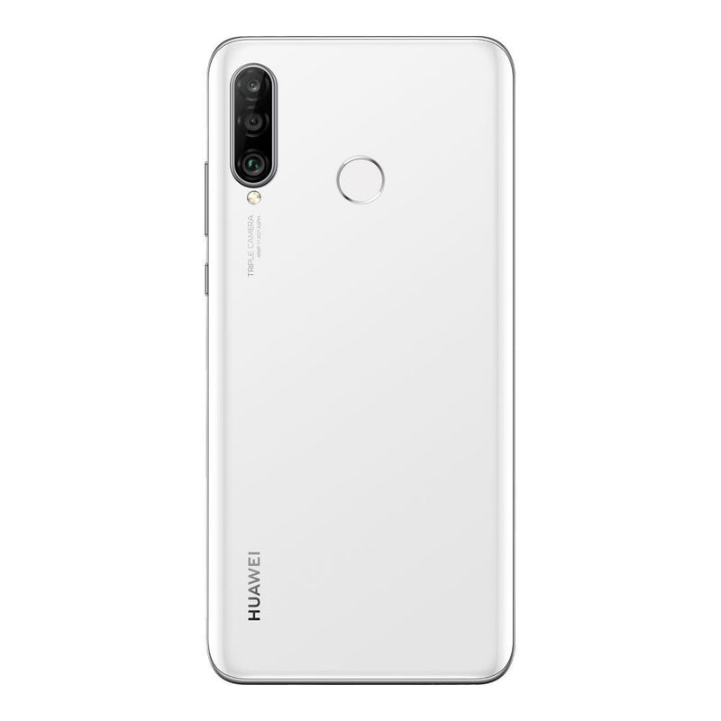 Huawei P30 Lite (128GB, Dual Sim, Pearl White, Special Import)-Smartphones (New)-Connected Devices