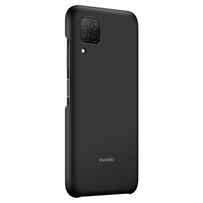 Huawei P40 Lite Protective Back Cover Case (Black, Special Import)-Accessories - Smartphones - Cases-Connected Devices