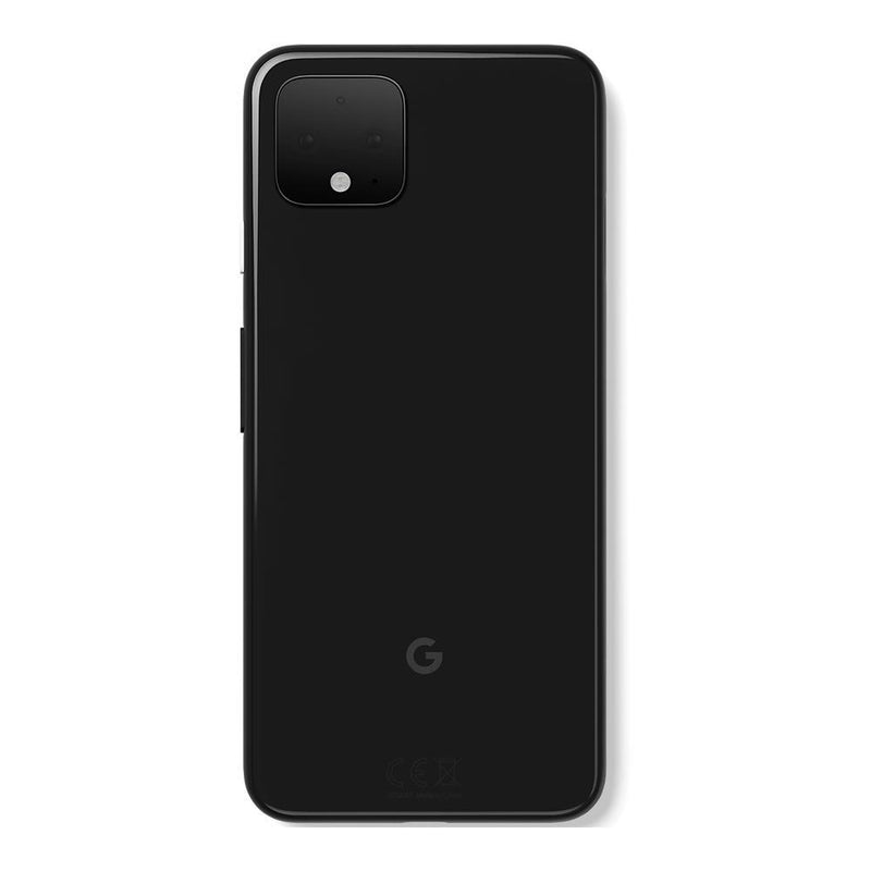 Google Pixel 4 (Pre-Owned, 64GB, Just Black, Special Import)-Smartphones (Open Box)-Connected Devices