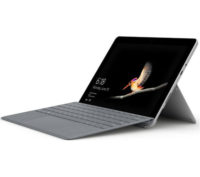 Microsoft Surface GO Signature Type Cover (Platinum, Special Import)-Tablet Accessories-Connected Devices