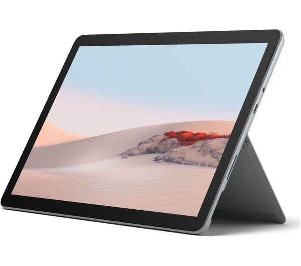 Microsoft Surface GO 2 (8GB, 128GB, WiFi only, Pentium Gold, Platinum, Special Import)-Laptop (new)-Connected Devices