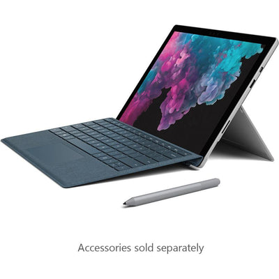 Microsoft Surface Pro 6 (i7, 8GB, 256GB, Platinum, Special Import)