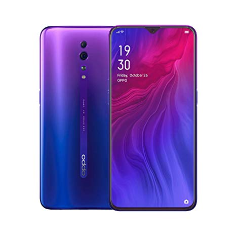 Oppo Reno Z (128GB, Dual Sim, Aurora Purple, Special Import)-Smartphones (New)-Connected Devices