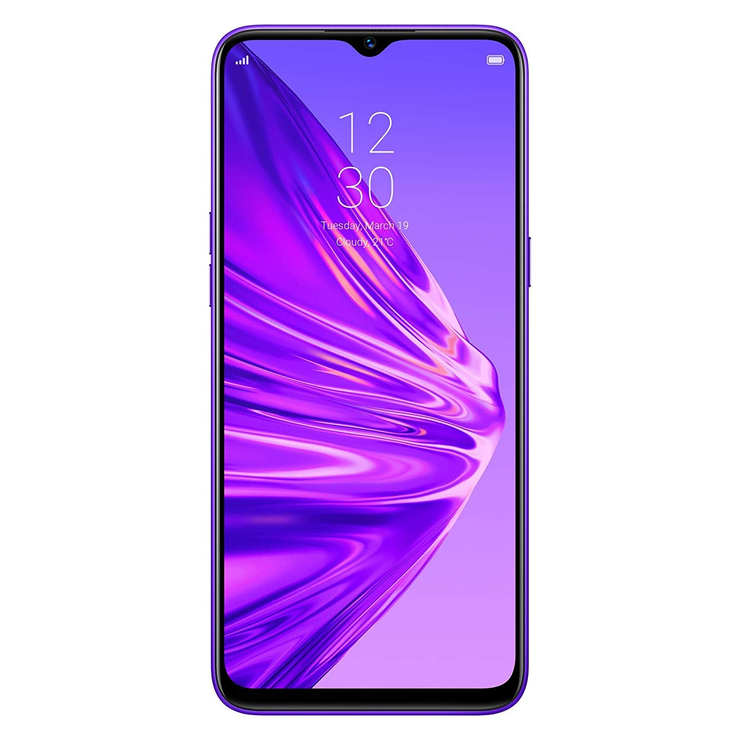 Realme 5 (128GB, 4GB RAM, Dual Sim, Crystal Purple, Special Import)-Smartphones (New)-Connected Devices