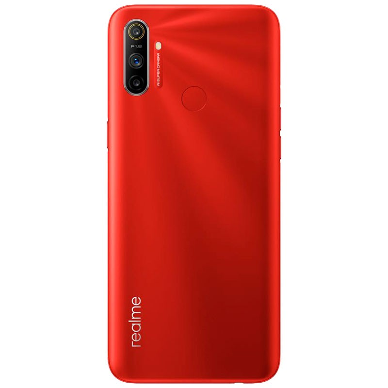 Realme C3 (64GB, 3GB RAM, Dual Sim, Red, Special Import-Smartphones (New)-Connected Devices