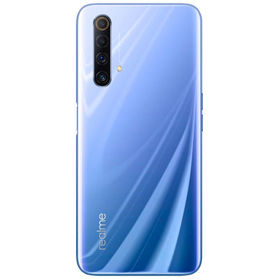 Realme X50 5G (128GB, 6GB, Dual Sim, Silver, Special Import)-Smartphones (New)-Connected Devices