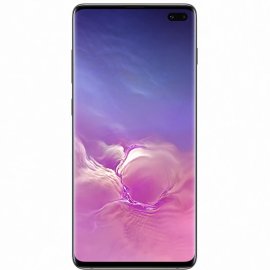 Samsung Galaxy S10 Plus (512GB, Dual Sim, Ceramic Black, Special Import)-Smartphones (New)-Connected Devices