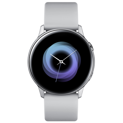 Samsung Galaxy Watch Active (WiFi, Silver, Local Stock)-Wearables (New)-Connected Devices