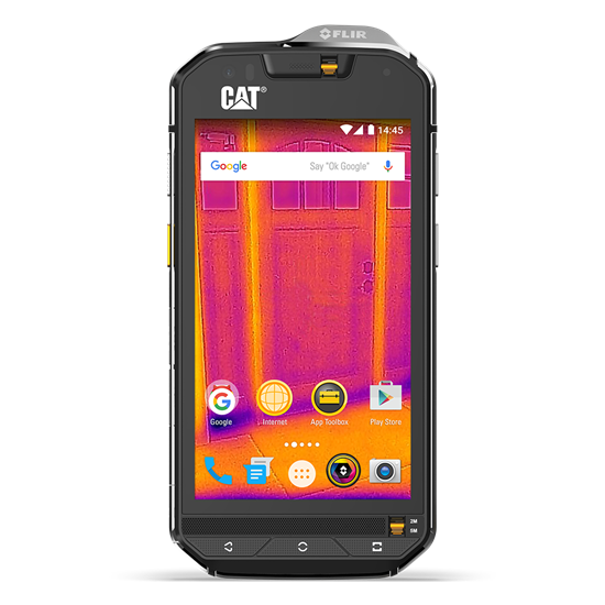 CAT S60 (Pre-Owned, Dual Sim, Black, Special Import)-Smartphones (Open Box)-Connected Devices