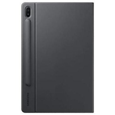 Samsung Galaxy Tab S6 Book Cover Case (Grey, Special Import)-Tablet Accessories-Connected Devices