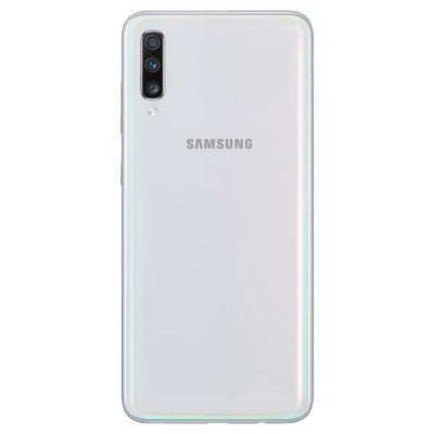 Samsung Galaxy A70 (128GB, Dual Sim, White, Special Import)-Smartphones (New)-Connected Devices
