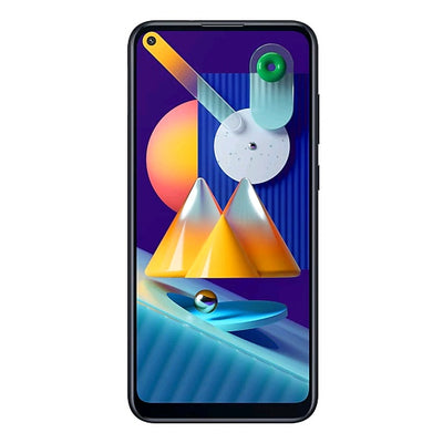 Samsung Galaxy M11 (32GB, Dual Sim, Black, Special Import)-Smartphones (New)-Connected Devices