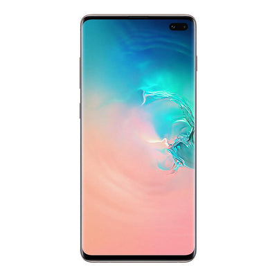 Samsung Galaxy S10 Plus (128GB, Single Sim, Prism White, Local Stock)-Smartphones (New)-Connected Devices