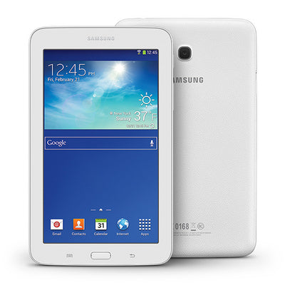 Samsung Galaxy Tab 3 Lite (8GB, Wi-Fi + 3g, White, Local Stock)-Tablets (New)-Connected Devices