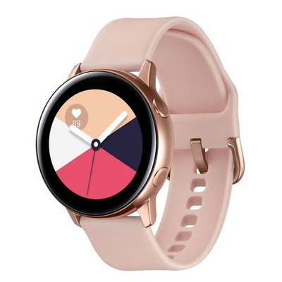 Samsung Galaxy Watch Active (Bluetooth, Rose Gold, Special Import)-Wearables (New)-Connected Devices