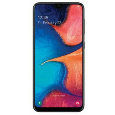 Samsung Galaxy A20 (32GB, Single Sim, Deep Blue, Local Stock)-Smartphones (New)-Connected Devices