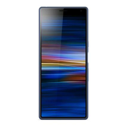Sony Xperia 10 (64GB, Dual Sim, Blue, Special Import)-Smartphones (New)-Connected Devices