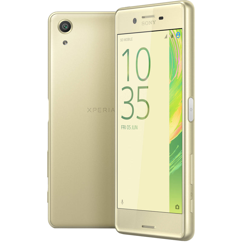 Sony Xperia X Performance (32GB, Lime Gold, Special Import)-Smartphones (New)-Connected Devices